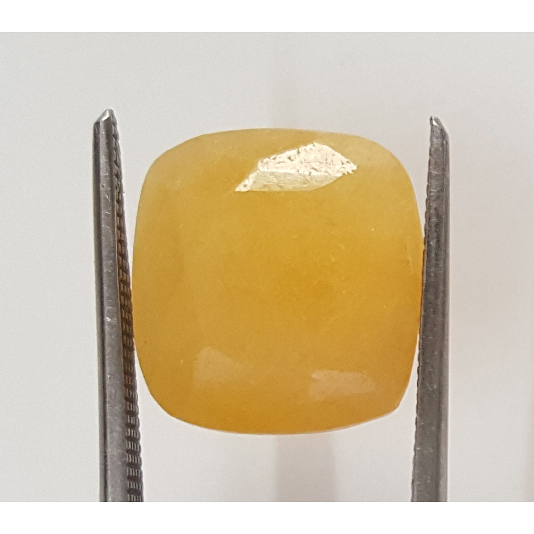 12.77 Ratti Natural Yellow Sapphire With Govt Lab Certificate-(1221)