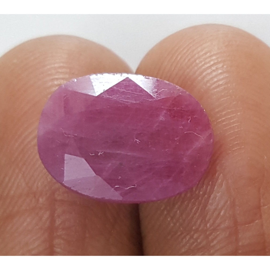7.13 Ratti Natural Indian Ruby with Govt. Lab Certificate-(1221)