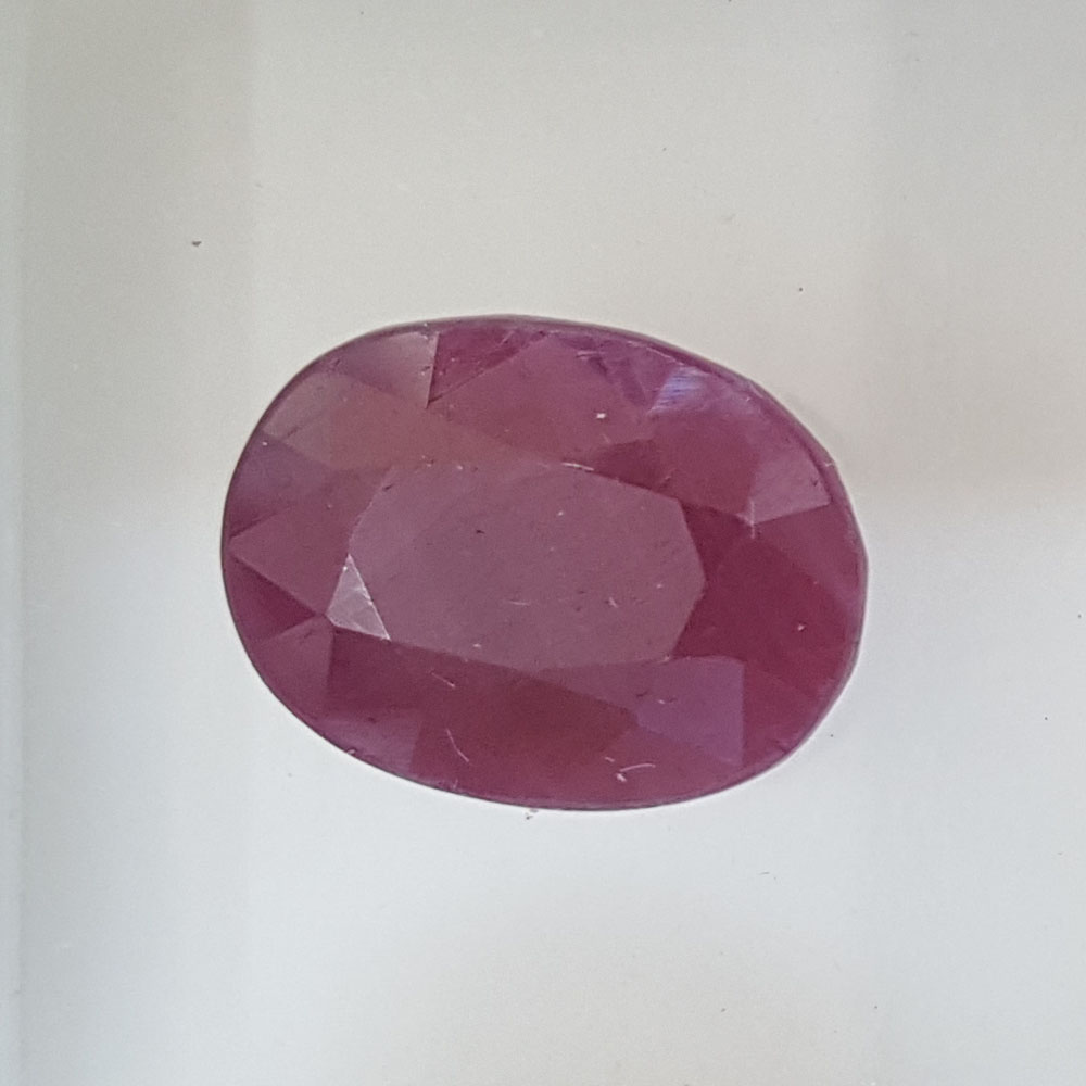 5.97 Ratti Natural Indian Ruby with Govt. Lab Certificate-(1221))