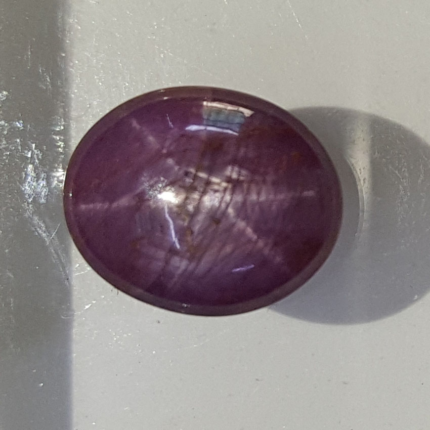 7.19 Natural Star Ruby With Govt.Lab Certificate-(1221)