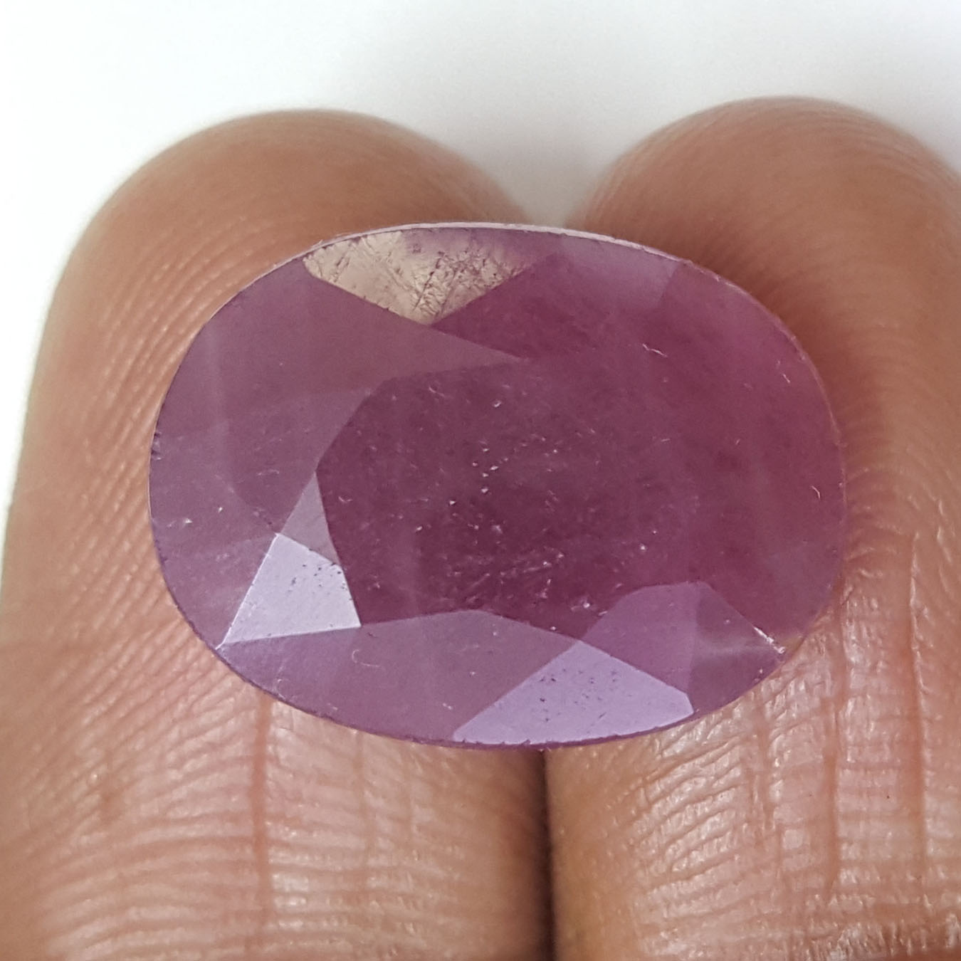 14.93 Ratti Natural Indian Ruby With Govt. Lab Certificate-(1221)