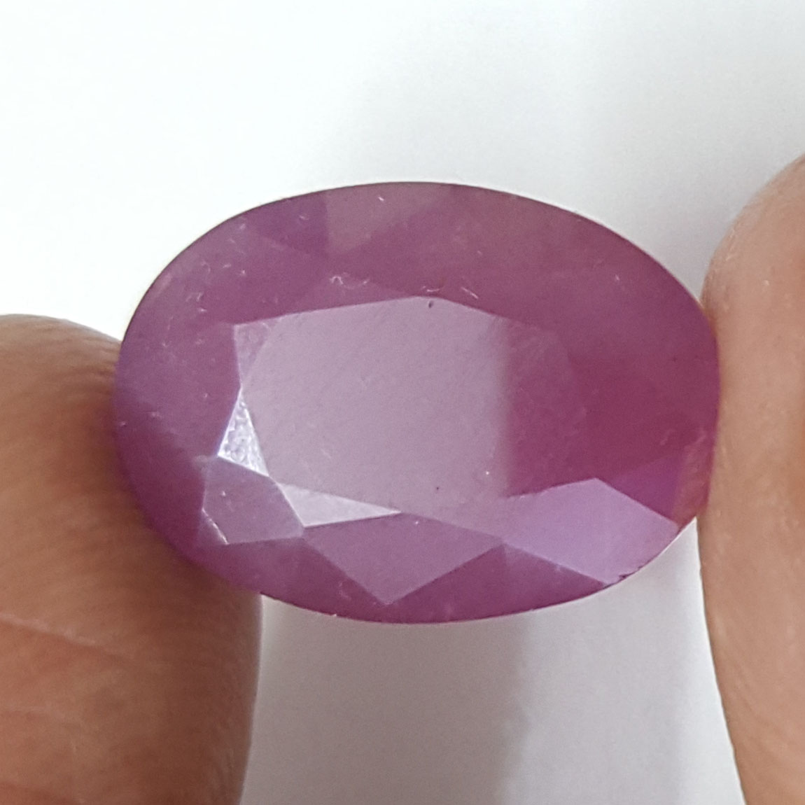 12.71 Ratti Natural New Burma Ruby with Govt Lab Certificate-(3441)