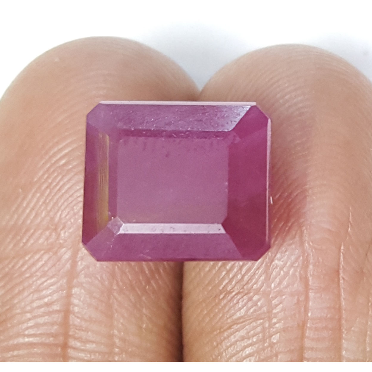 11.47 Ratti Natural New Burma Ruby with Govt. Lab Certificate-(7881)