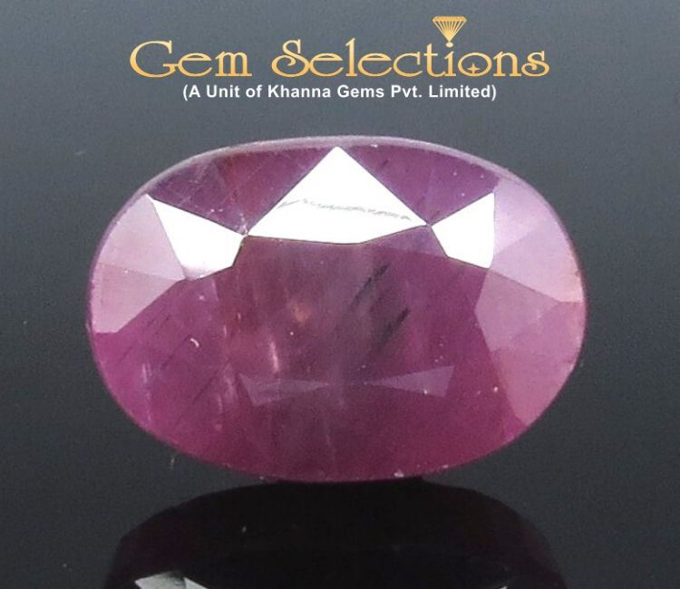 12.34 Ratti Natural Indian Ruby with Govt. Lab Certificate-(1221)