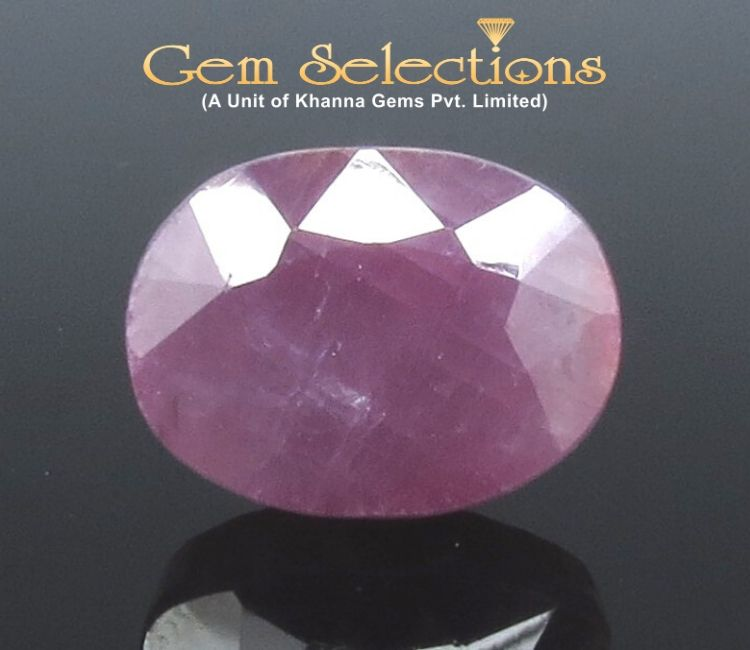 11.29 Ratti Natural Indian Ruby with Govt. Lab Certificate-(1221)