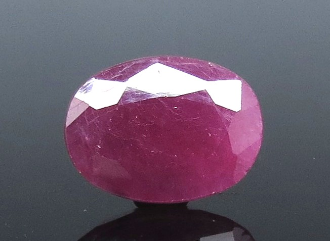 4.45 Ratti Natural Indian Ruby with Govt Lab Certificate-(1221)