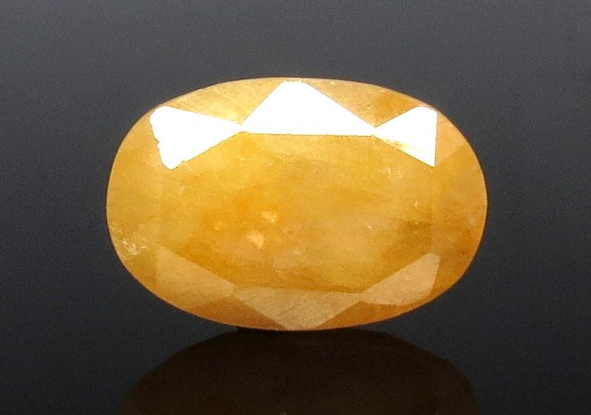 11.61 Ratti Natural Ceylonese Pukhraj Stone with Govt Lab Certificate-(1221)