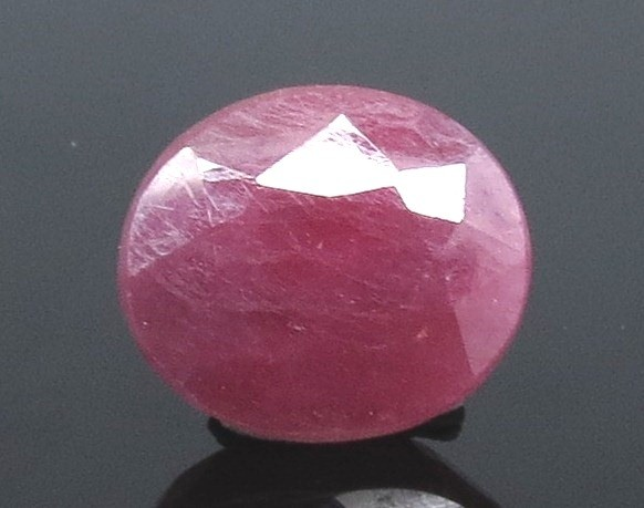 4.46 Ratti Natural Indian Ruby with Govt. Lab Certificate-(1221)