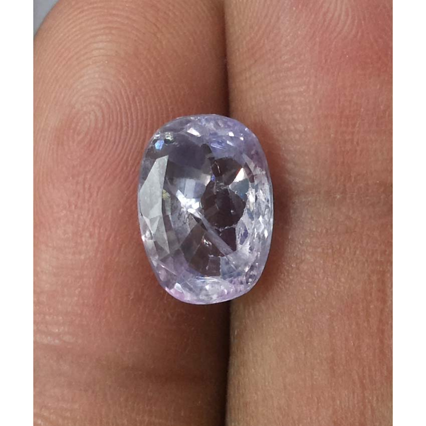 4.31 Ratti Natural Purple Sapphire with Govt. Lab Certified