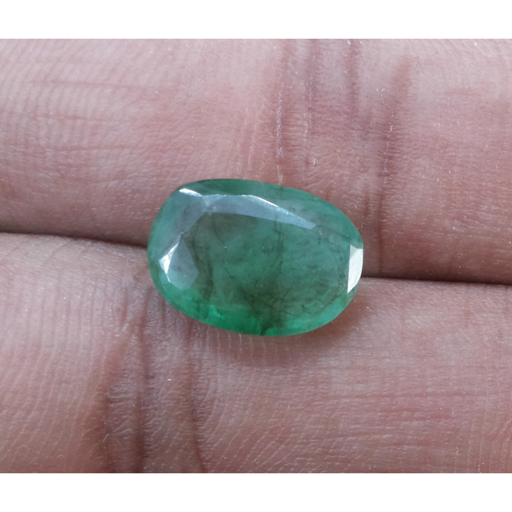 4.88 Ratti Natural Panna Stone with Govt. Lab Certified-(4551)