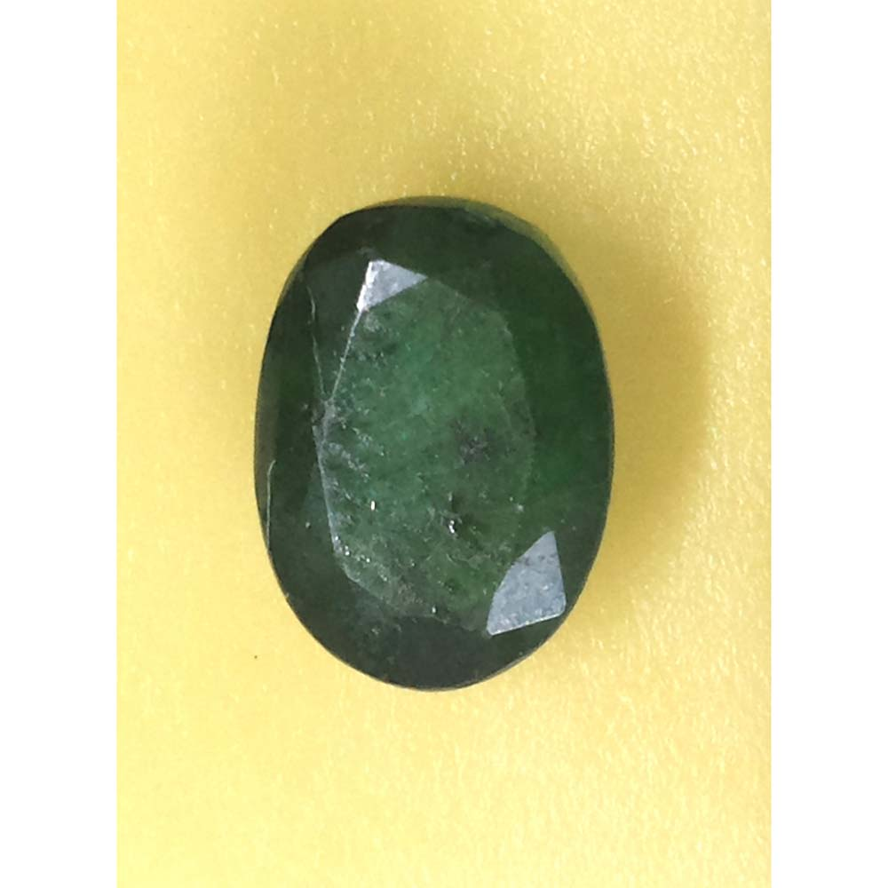 3.19 Ratti Natural Panna Stone with Govt. Lab Certified-(12210)