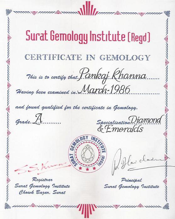 Surat Gemology Institute