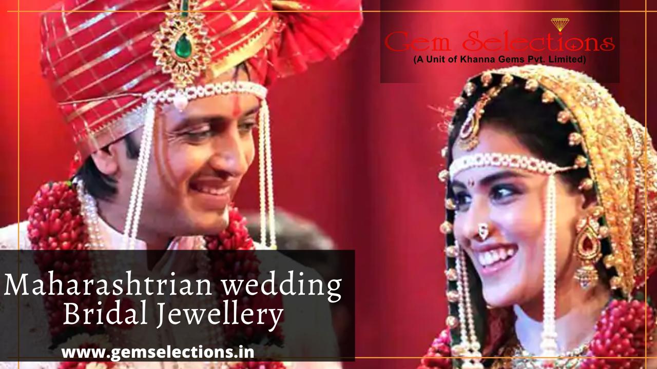 Maharastrian wedding Bridal jewellery