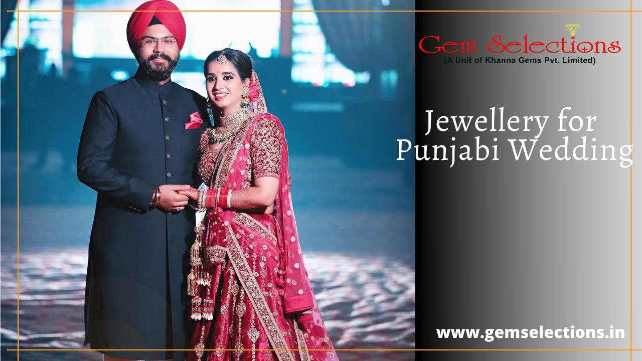 Jewellery in Punjabi wedding