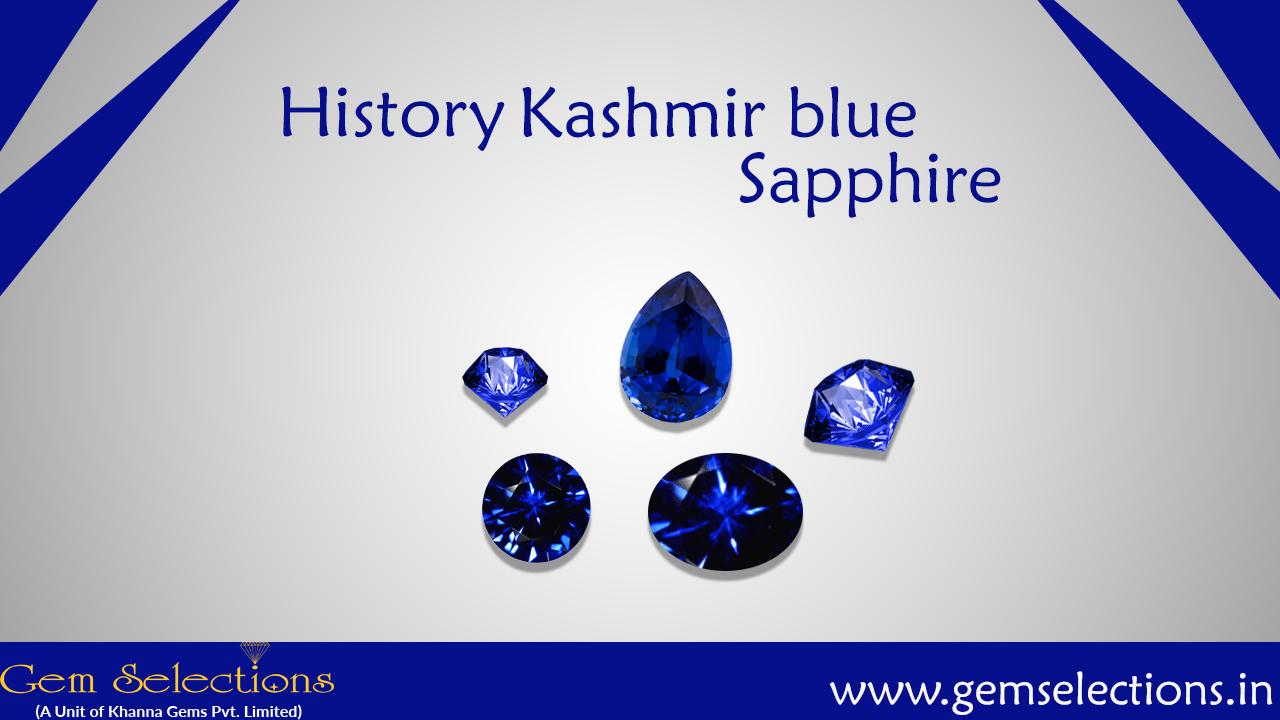 History of Kashmiri Sapphires