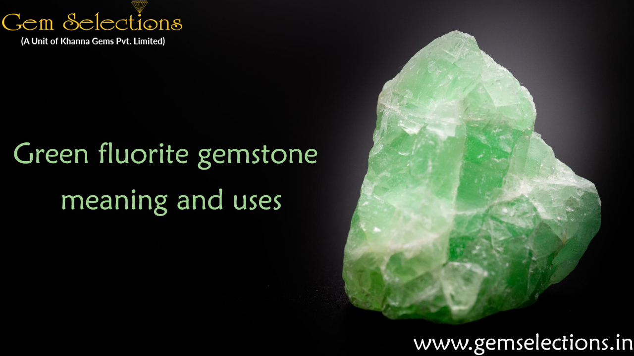 Green Flourite gemstone meaning and uses