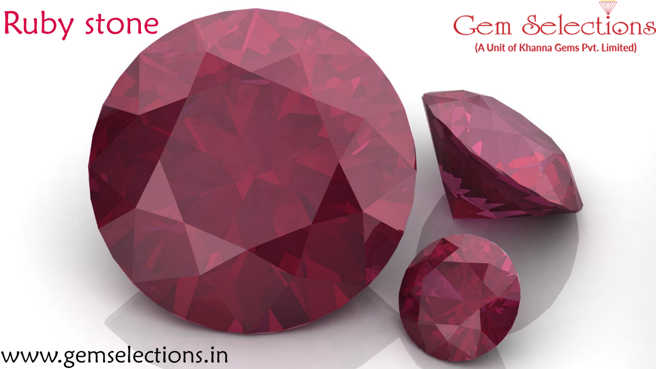 Ruby stone benefits for cancer