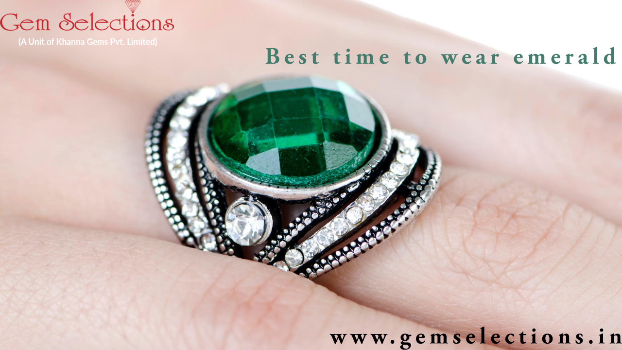 What is best time to wear emerald