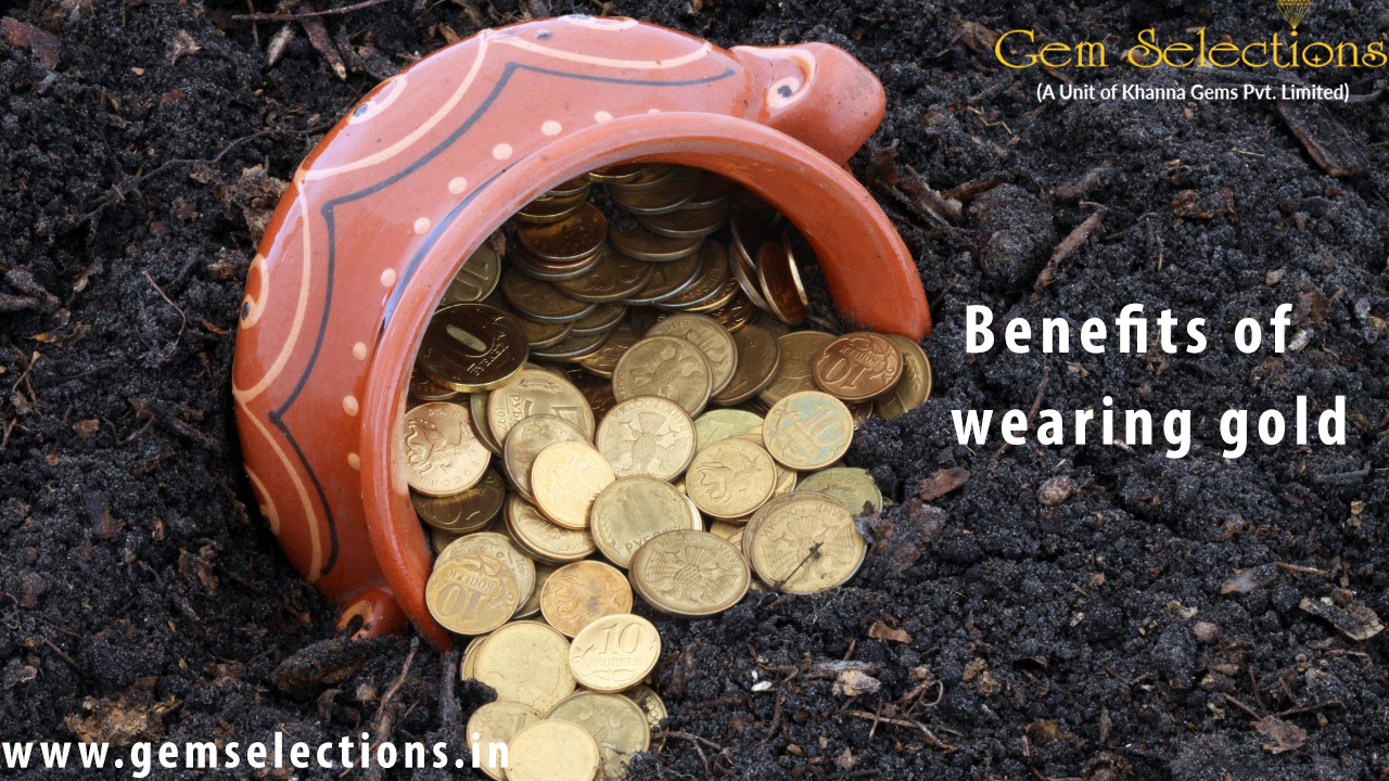 Benefits of wearing gold
