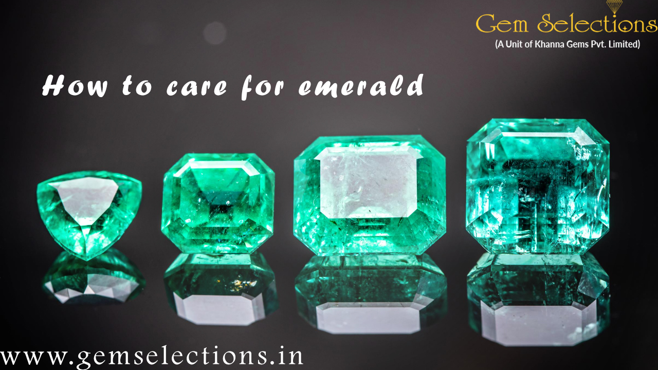 How to care for emerald