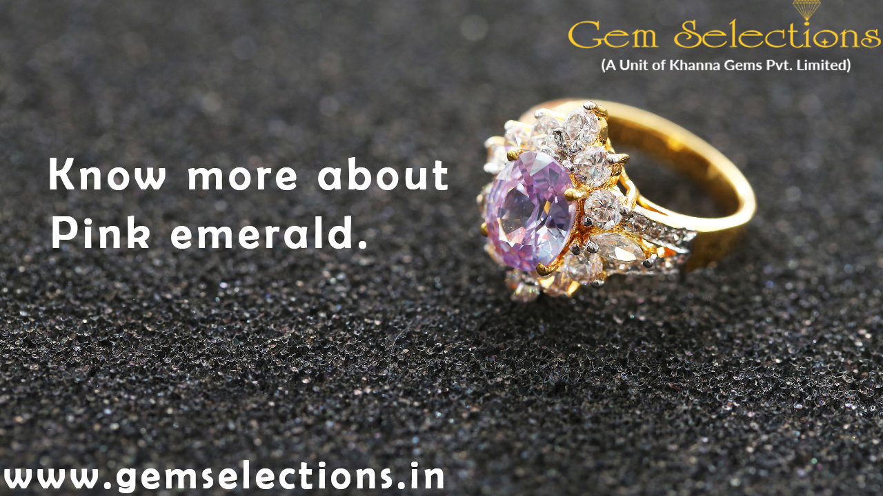 Know more about pink emerald