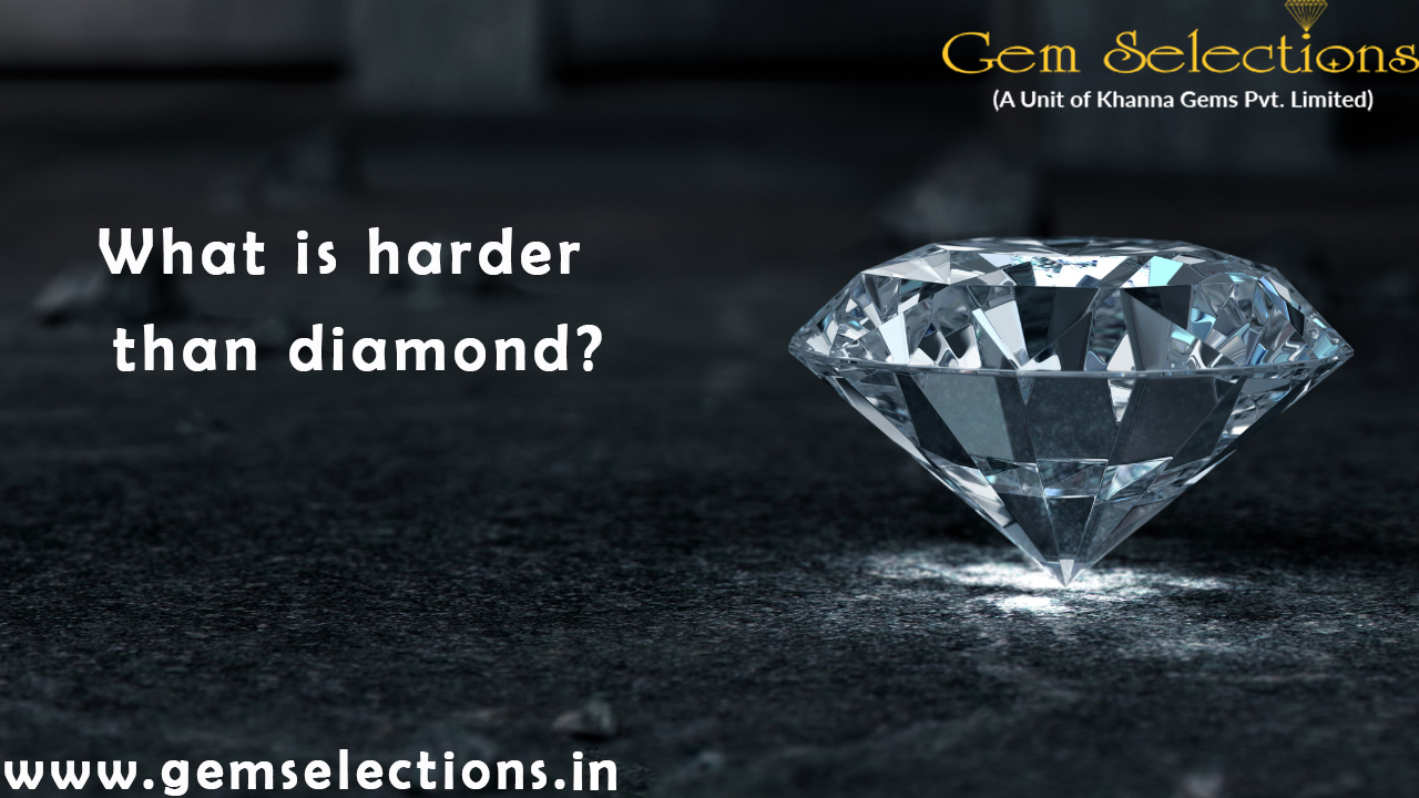 What is harder than Diamond?