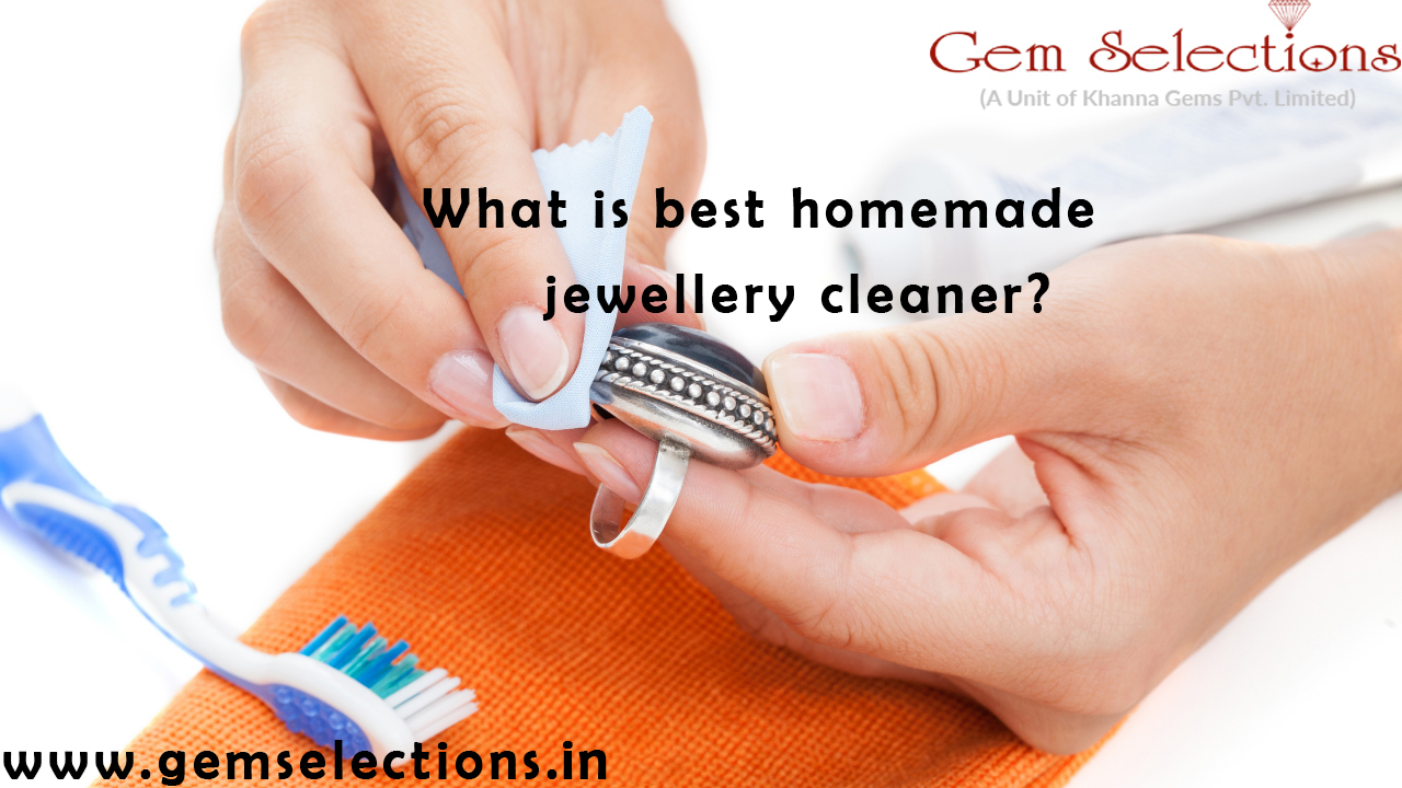 What is the best homemade jewellery cleaner