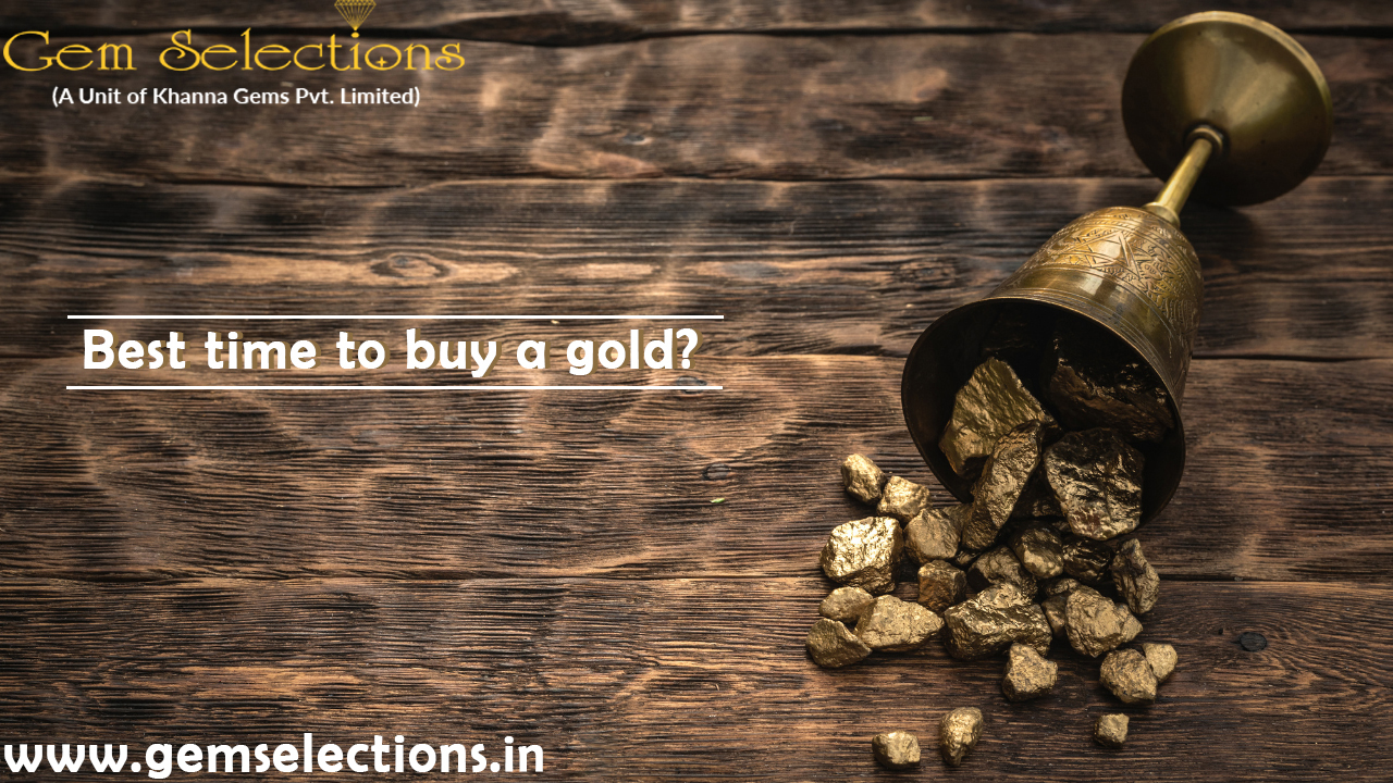Best time to buy Gold?