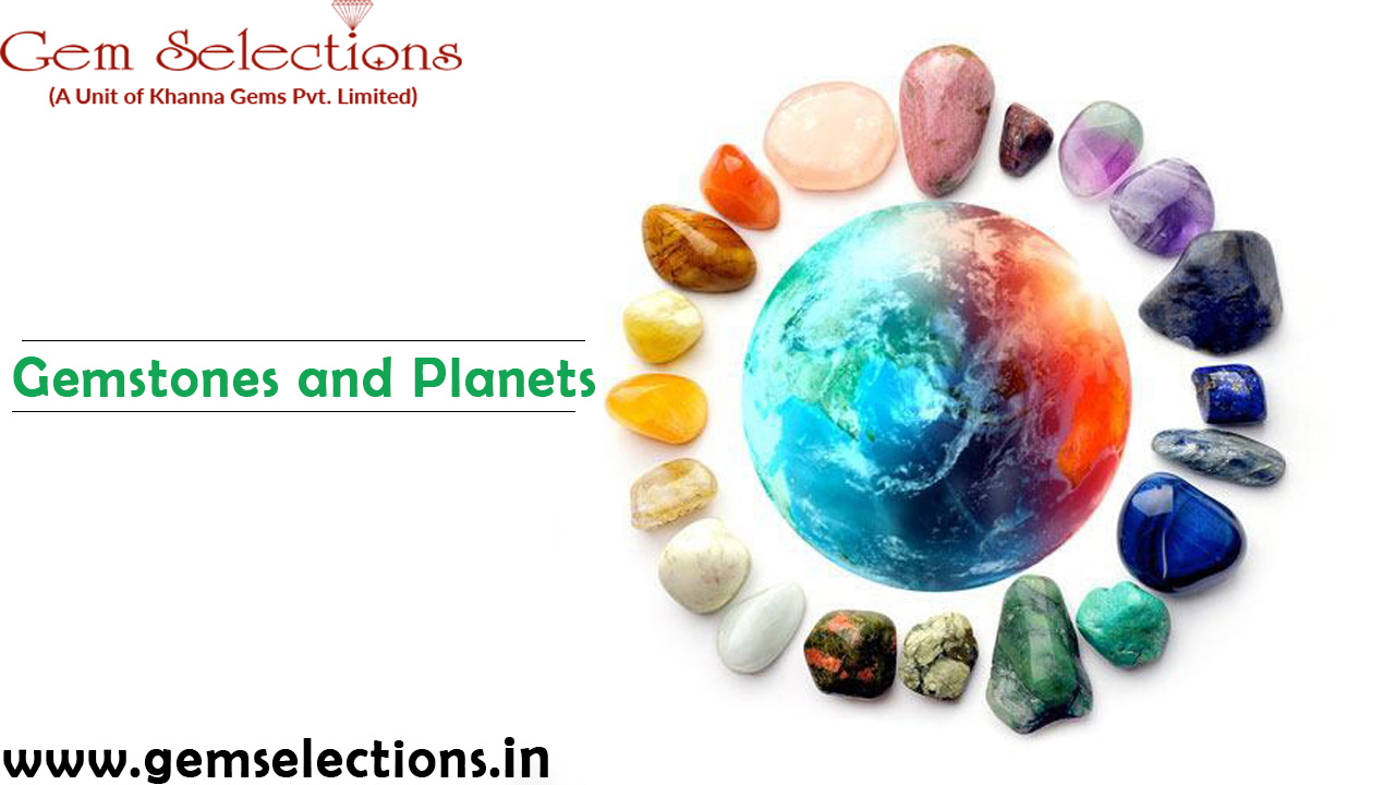 Gemstone and Planet
