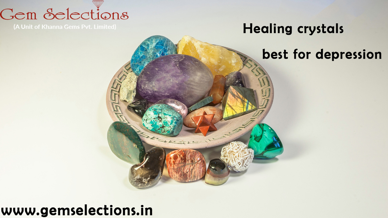 Healing crystals best for depression