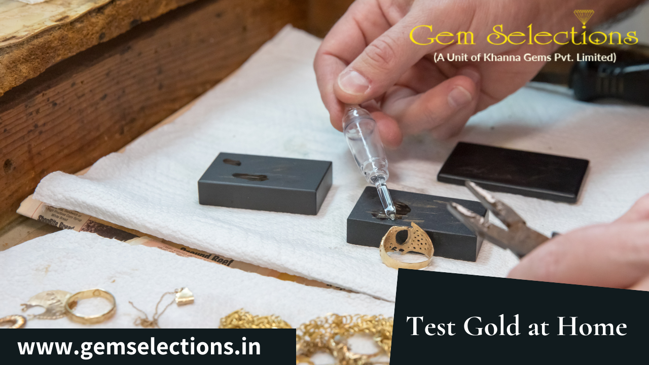 HOW TO TEST GOLD AT HOME WITHOUT ACID