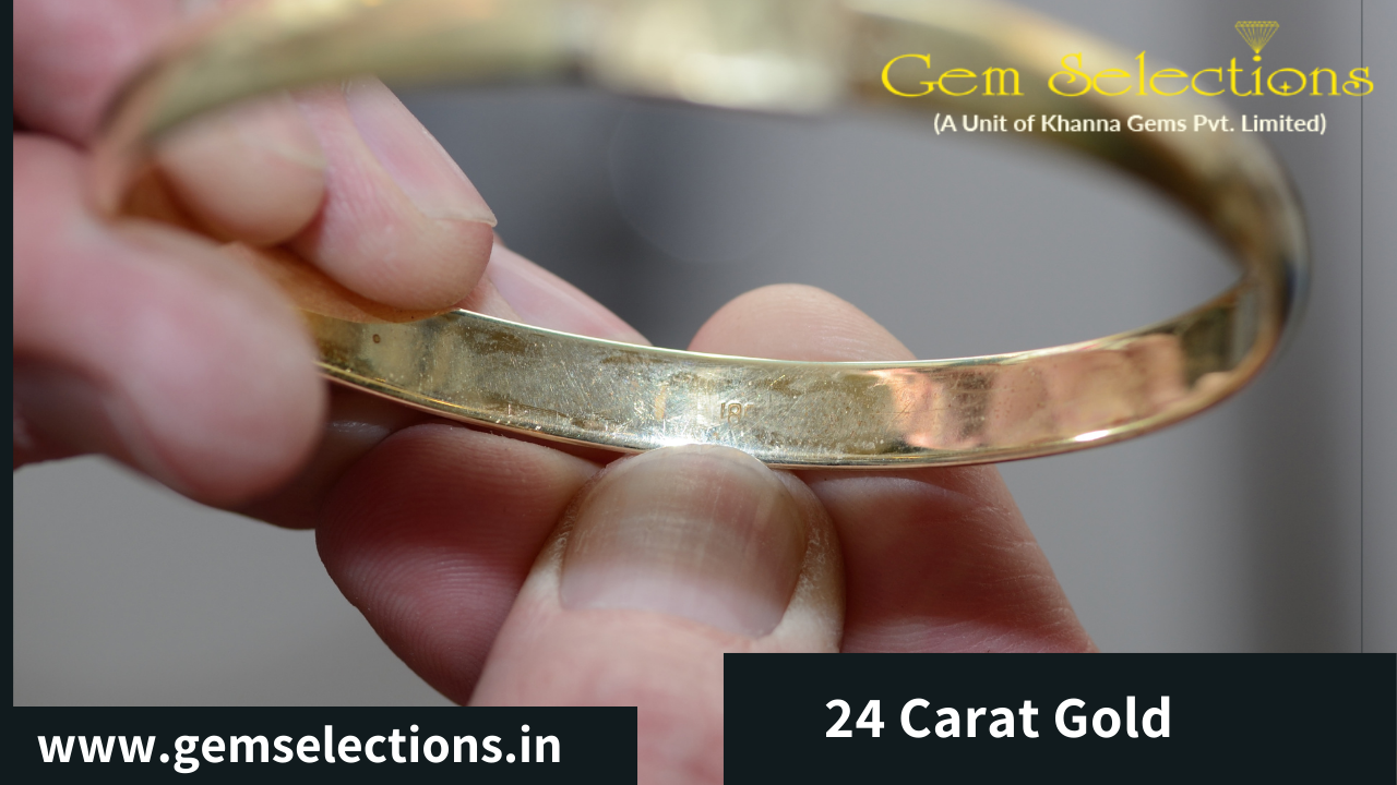 How can you tell 24 carat Gold?