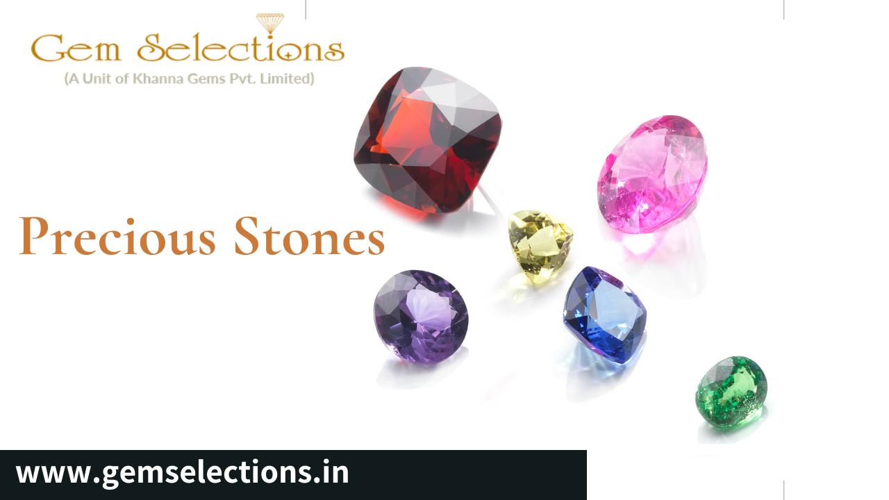 What are 4 precious stones