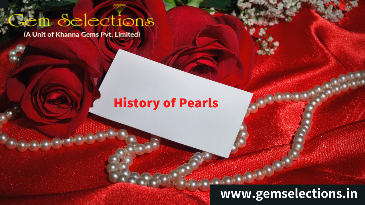 History of Pearls