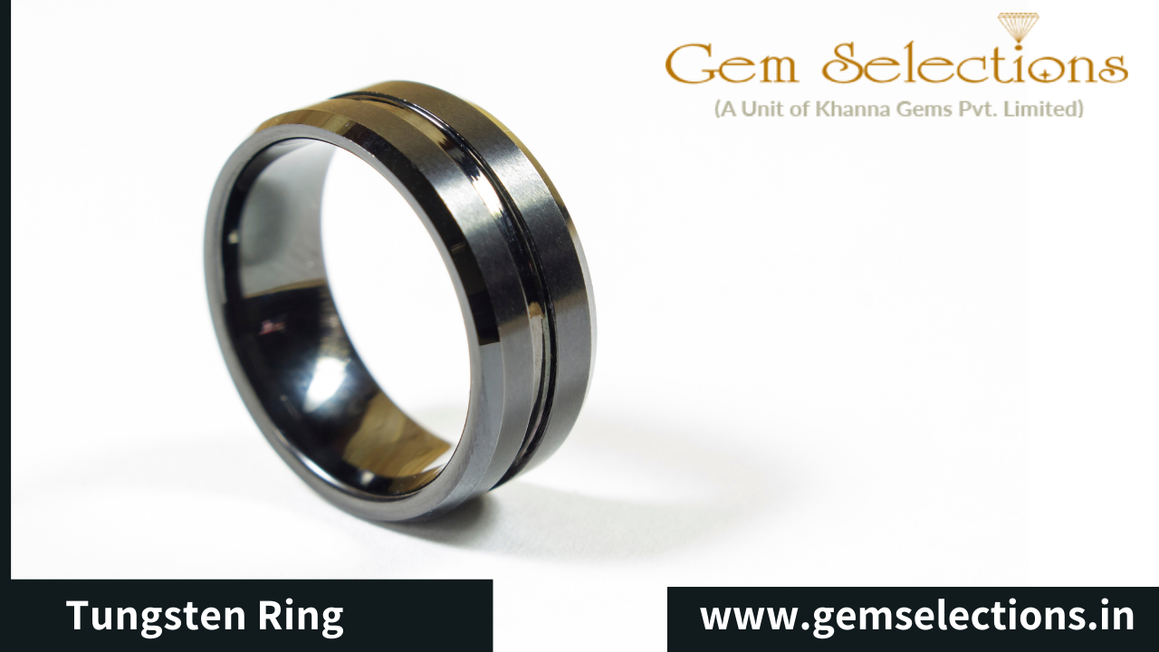 All About Tungsten Rings