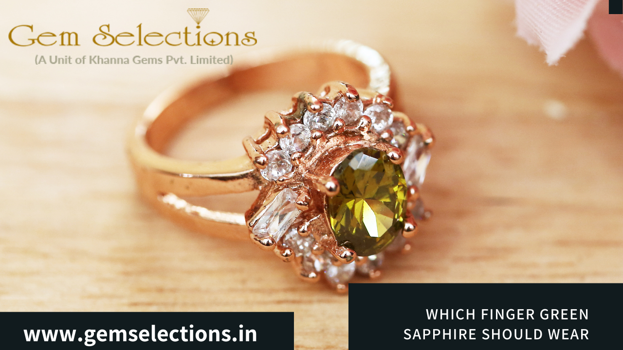 Which finger you should wear green sapphire