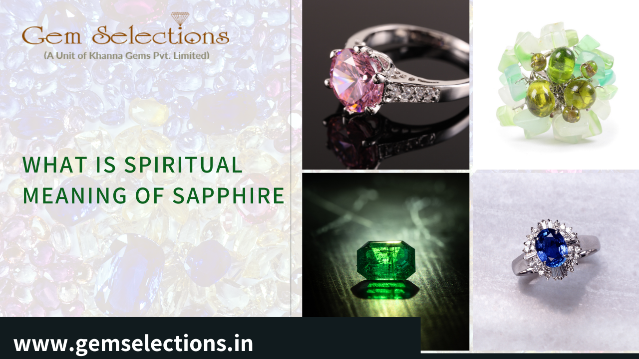 What is the spiritual meaning of sapphire