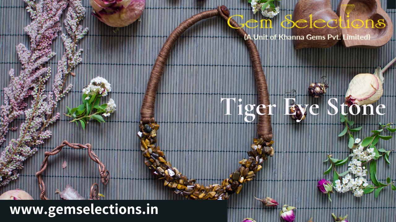 How to buy Natural Tiger Eye Gemstone: