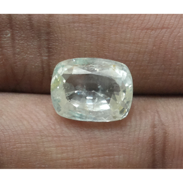 7.54 Ratti Natural yellow sapphire with Govt Lab Certificate-(15000)