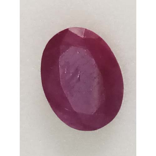 2.61 Ratti Natural Mozambique Ruby with Govt. Lab Certificate-(15000)