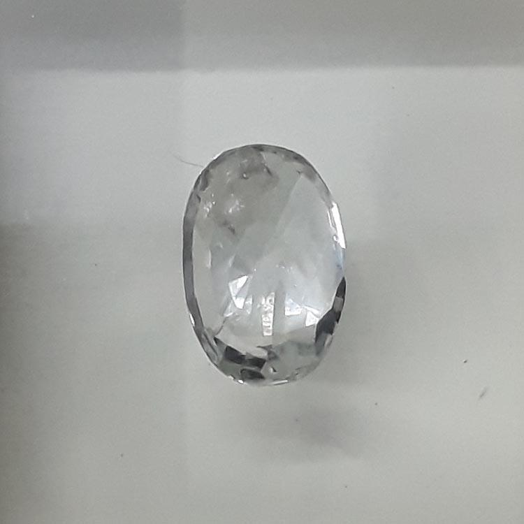 3.12 Ratti Natural White Sapphire with Govt Lab Certificate-(11000)